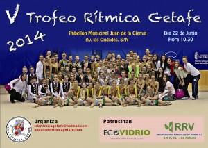 Cartel Ritmica 2014